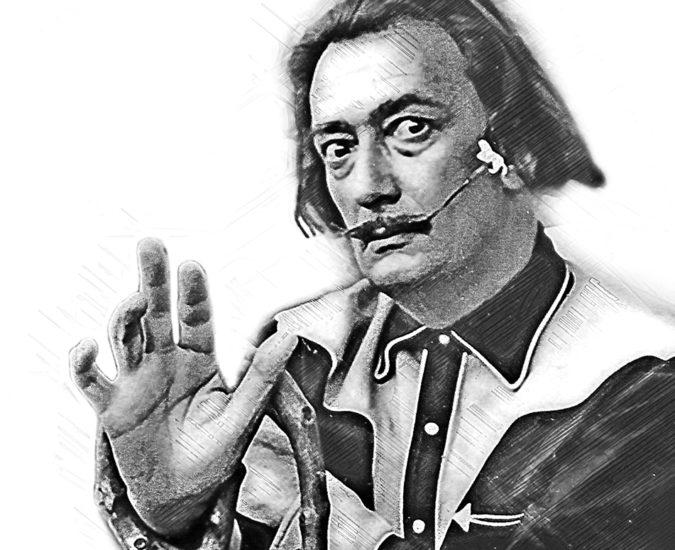 Salvador Dali w Wiśle