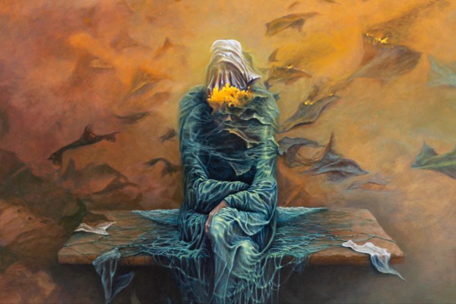 Wystawa malarstwa Krzysztofa Heksel