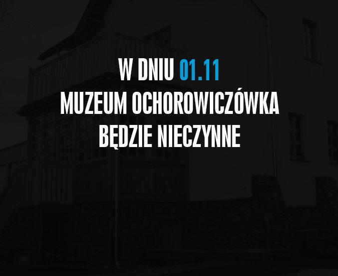 Godziny otwarcia 1 listopada